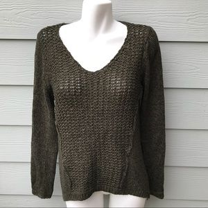 RDI Olive Green Knit Sweater